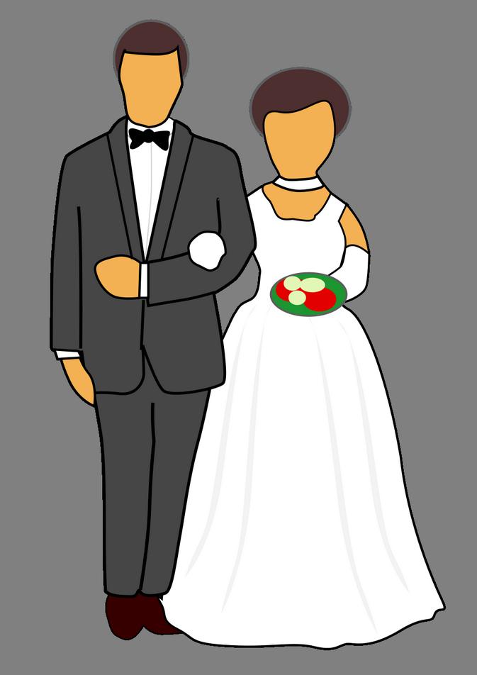 Přání pro novomanžele, obrázková přáníčka - Blahopřání k svatbě novomanželům